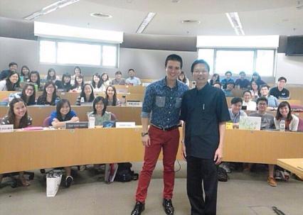 SMU, Tok Tok Chiang, Tok  Tok Chiang's Co Founder Professor Patrick H M Loh, Nick Shen Weijun's mentor.
